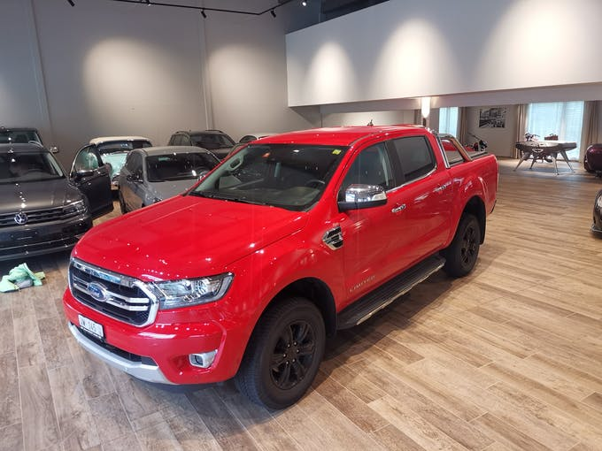 Ford Ranger Limited 2.0 Eco Blue 4x4 A 32'000 km CHF37'990 - buy on carforyou.ch - 1