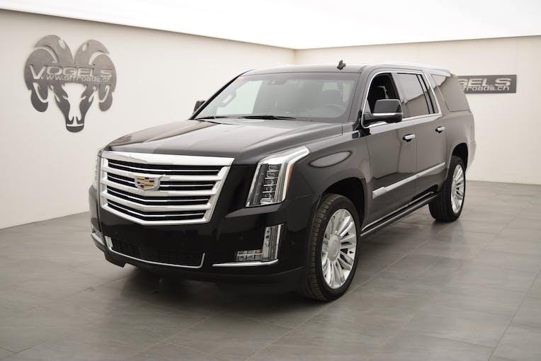 Cadillac Escalade 6.2 ESV Platinum 69'825 km CHF76'800 - acquistare su carforyou.ch - 1