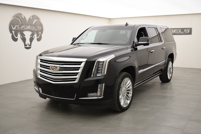 Cadillac Escalade 6.2 ESV Platinum 69'825 km CHF76'800 - buy on carforyou.ch - 1