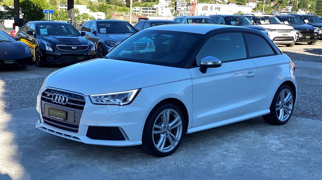 Audi S1 2.0 TFSI quattro 21'400 km CHF27'850 - buy on carforyou.ch - 1