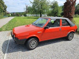Fiat Ritmo 85 Bertone Cabrio (Cabriolet) OLDTIMER - TOP Rari 20'000 km CHF8'500 - acheter sur carforyou.ch - 2
