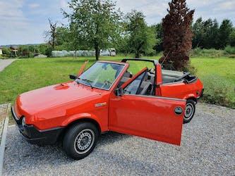 Fiat Ritmo 85 Bertone Cabrio (Cabriolet) OLDTIMER - TOP Rari 20'000 km CHF8'500 - acheter sur carforyou.ch - 3