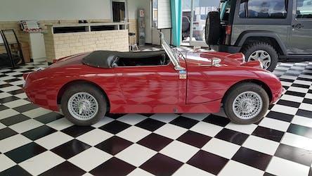 Austin Healey Sprinte MK1 50'160 km CHF23'500 - acquistare su carforyou.ch - 3