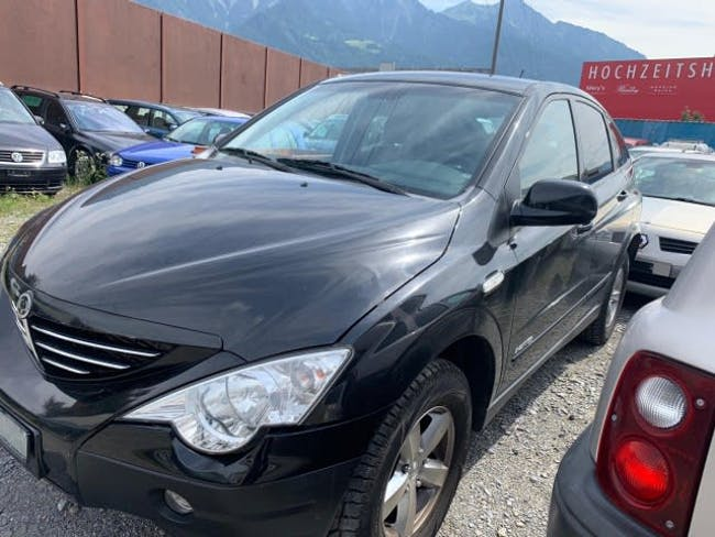 SsangYong Actyon 200 Xdi 4WD Deluxe Automatic 162'000 km CHF3'300 - kaufen auf carforyou.ch - 1
