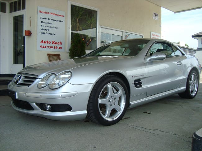 Mercedes-Benz SL 55 AMG Automatic 103'000 km CHF29'500 - acquistare su carforyou.ch - 1