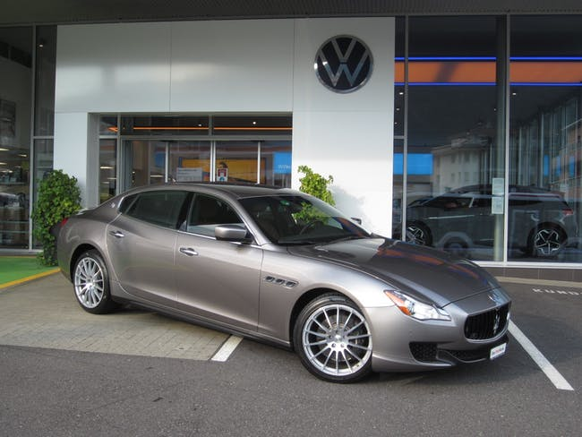 Maserati Quattroporte 3.0 V6 S Q4 Automatica 50'000 km CHF42'500 - buy on carforyou.ch - 1