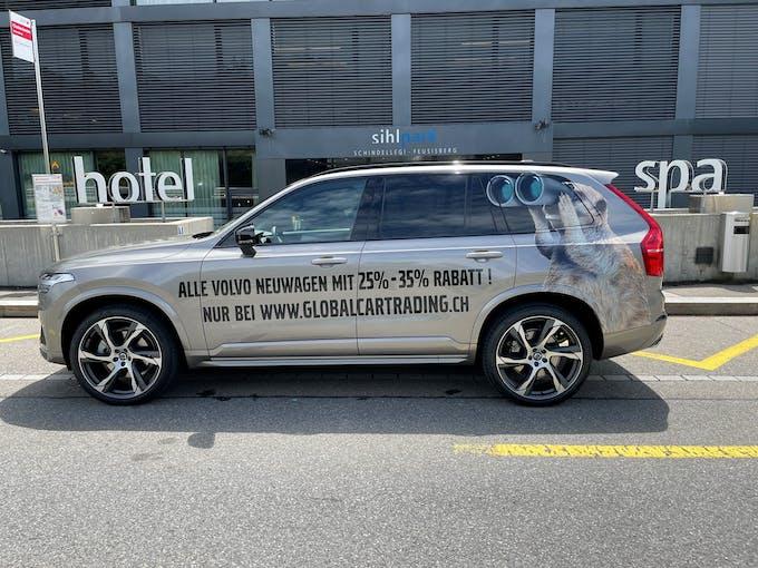 Volvo XC90 B6 Benzin Mild Hybrid AWD R-Design Geartronic 1 km CHF79'800 - buy on carforyou.ch - 1