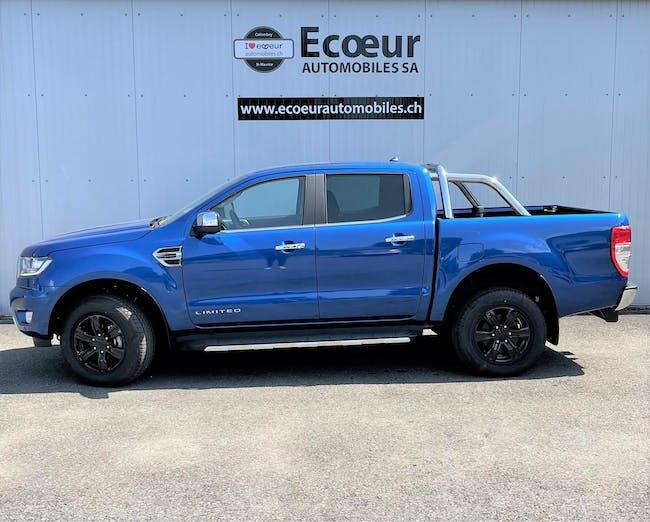 Ford Ranger dc.pup 2.0 EcoBlue 4x4 Lim. 200 km CHF41'400 - buy on carforyou.ch - 1
