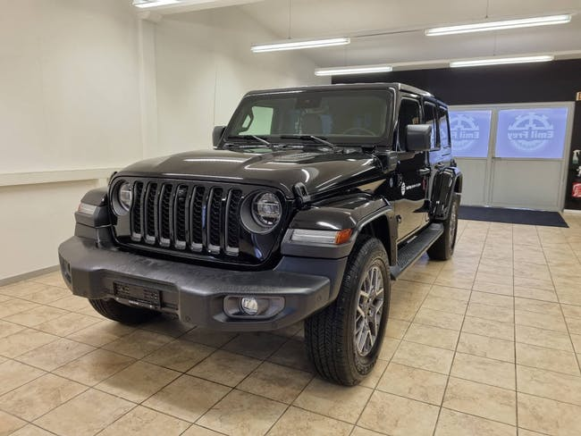 Jeep Wrangler 2.0 Turbo First Edition Unlimited 4xe 2'000 km CHF75'800 - acheter sur carforyou.ch - 1