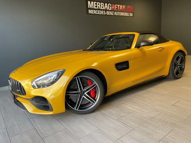 Mercedes-Benz GT AMG GT C Roadster Speedshift DCT 20 km CHF158'900 - buy on carforyou.ch - 1