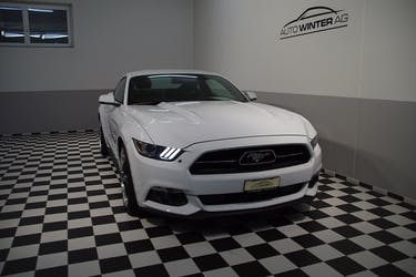 Ford Mustang GT 50th Anniverary 32'500 km CHF39'790 - buy on carforyou.ch - 2