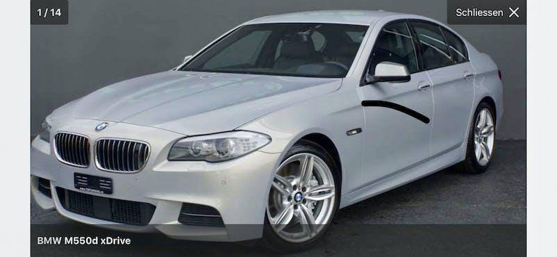 BMW 5er M550D xDrive Limousine 130'000 km CHF33'500 - acquistare su carforyou.ch - 1