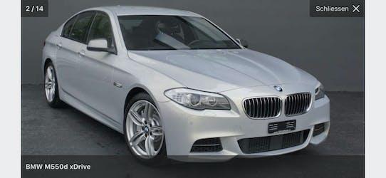 BMW 5er M550D xDrive Limousine 130'000 km CHF33'500 - acquistare su carforyou.ch - 2