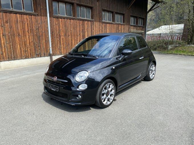 Fiat 500 C 1.2 S frisch ab MFK 120'000 km CHF7'900 - buy on carforyou.ch - 1