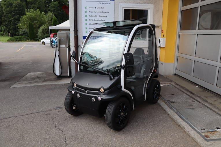 Aixam eCity / eCoupé Van Fast 518 km CHF12'500 - kaufen auf carforyou.ch - 1