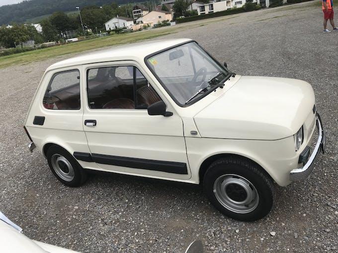 Fiat 126 650 Bambino 97'000 km CHF4'599 - buy on carforyou.ch - 1