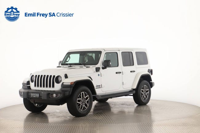 Jeep Wrangler 2.0 Turbo 80th Anniversary Unlimited 4xe CHF81'900 - acheter sur carforyou.ch - 1