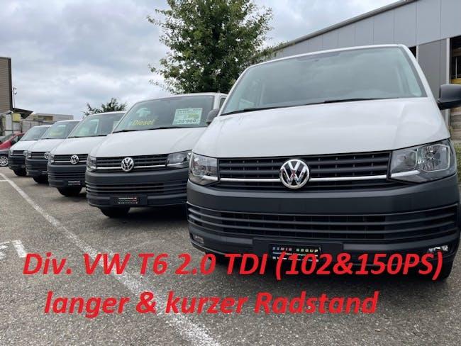 VW T6 Kaw. 3000 2.0 TDI 150 154'000 km CHF17'900 - acheter sur carforyou.ch - 1