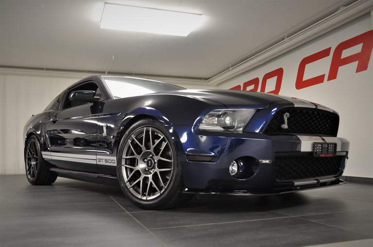Ford Mustang Shelby GT 500 SVT 95'000 km CHF49'800 - buy on carforyou.ch - 1