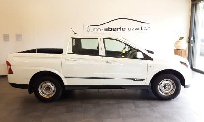 SsangYong Actyon Sports Crystal 4WD 73'900 km CHF16'700 - acheter sur carforyou.ch - 1