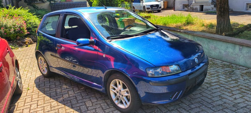 Fiat Punto 1.8 16V HGT 160'000 km CHF1'895 - kaufen auf carforyou.ch - 1