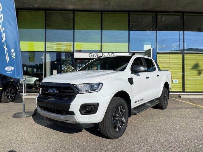 Ford Ranger Wildtrak 2.0 Eco Blue 4x4 A 50 km CHF46'999 - buy on carforyou.ch - 1