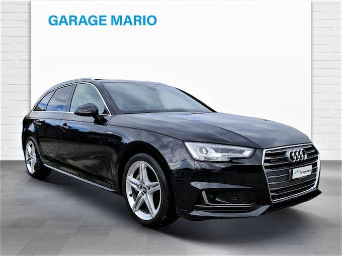 Audi A4 Avant **S-Line** 3.0 TDI Sport quattro S-tronic 47'600 km CHF37'700 - buy on carforyou.ch - 1