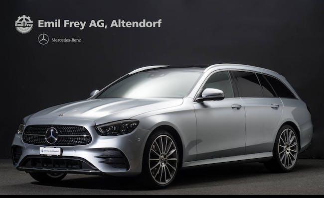 Mercedes-Benz E-Klasse E 200 T-Modell 4MATIC AMG-Line 3'000 km CHF75'900 - buy on carforyou.ch - 1