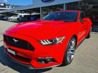Ford Mustang Convertible 5.0 V8 GT 25'000 km CHF41'900 - buy on carforyou.ch - 2