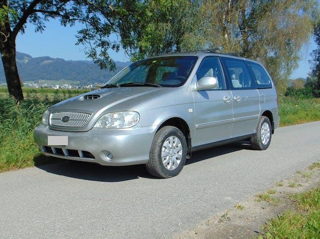 Kia Carnival II LX 2.9 Diesel 7-Plätze AHK MFK 9443 Widnau 160'000 km CHF2'100 - buy on carforyou.ch - 1