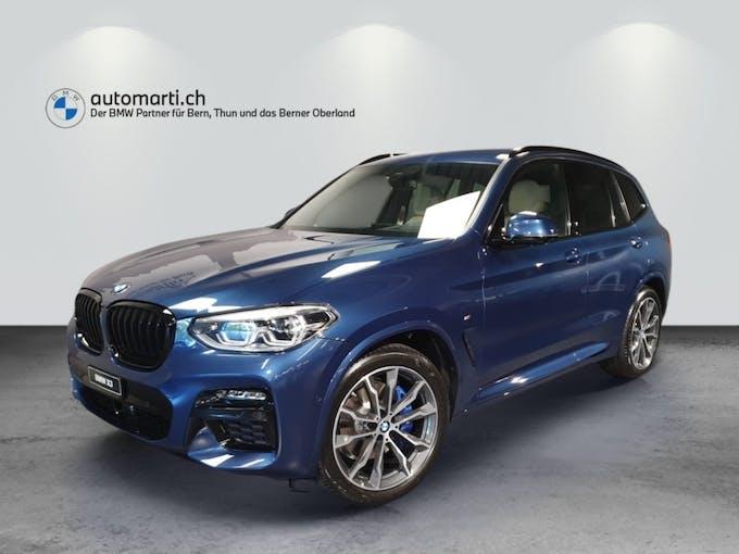 BMW X3 M40d 48V Steptronic 10 km CHF87'700 - buy on carforyou.ch - 1