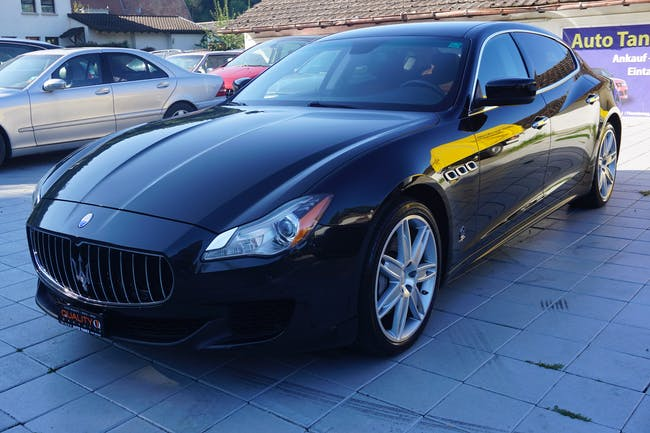 Maserati Quattroporte 3.0 Turbo D V6 Automatica 52'200 km CHF37'990 - buy on carforyou.ch - 1