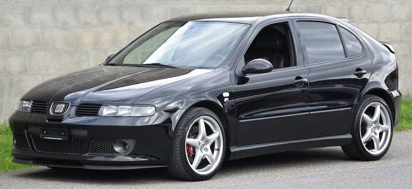 SEAT Leon 1.8 T Cupra R Suizacopa 168'000 km CHF4'500 - buy on carforyou.ch - 1