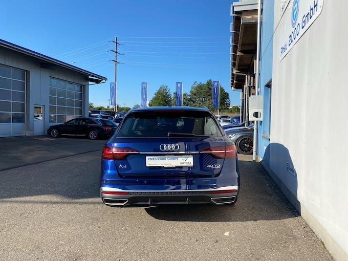 Audi A4 Avant 40 TDI S line quattro S-tronic 21'500 km CHF43'890 - buy on carforyou.ch - 1