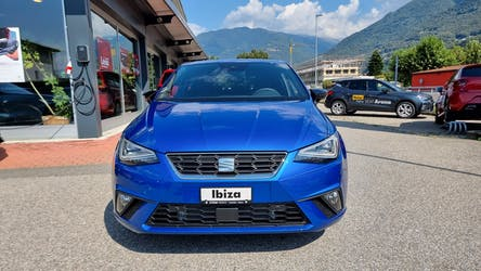 SEAT Ibiza 1.0 EcoTSI Hola FR DSG 1'000 km CHF26'900 - buy on carforyou.ch - 2