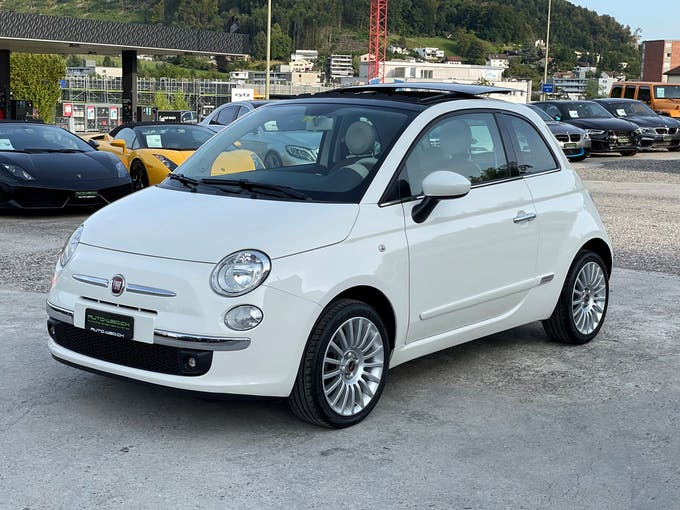 Fiat 500 1.4 16V Lounge Dualogic 76'000 km CHF9'850 - buy on carforyou.ch - 1