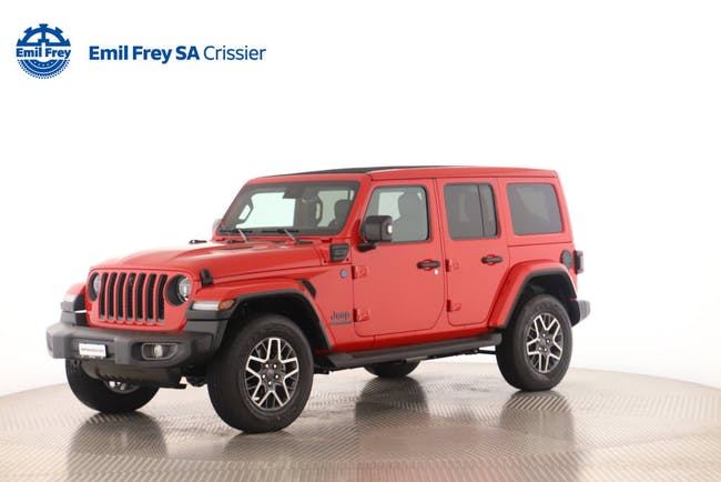 Jeep Wrangler 2.0 Turbo 80th Anniversary Unlimited 4xe CHF82'900 - acheter sur carforyou.ch - 1