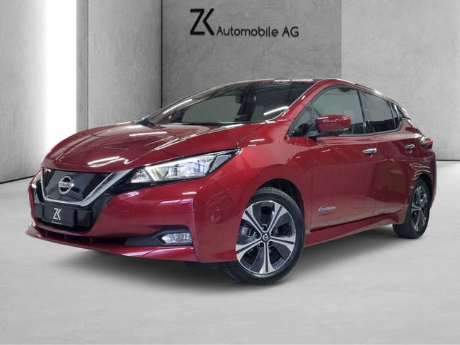 Nissan Leaf Tekna (incl.battery) (incl.2charging cable) 19'000 km CHF21'490 - buy on carforyou.ch - 1
