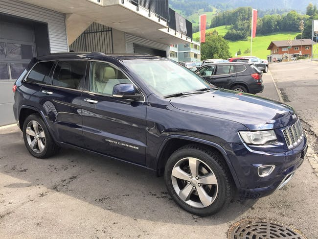 Jeep Grand Cherokee 3.0 CRD Overland Automatic 108'000 km CHF27'800 - acheter sur carforyou.ch - 1