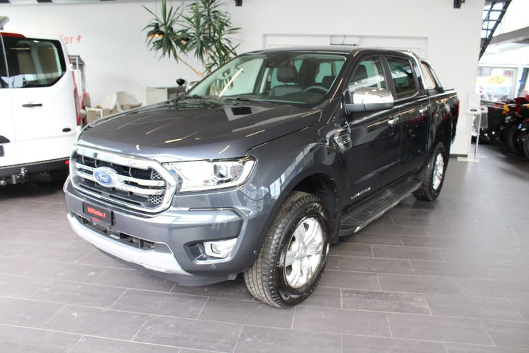 Ford Ranger DKab.Pick-up 2.0 EcoBlu Limited 1 km CHF49'180 - buy on carforyou.ch - 1