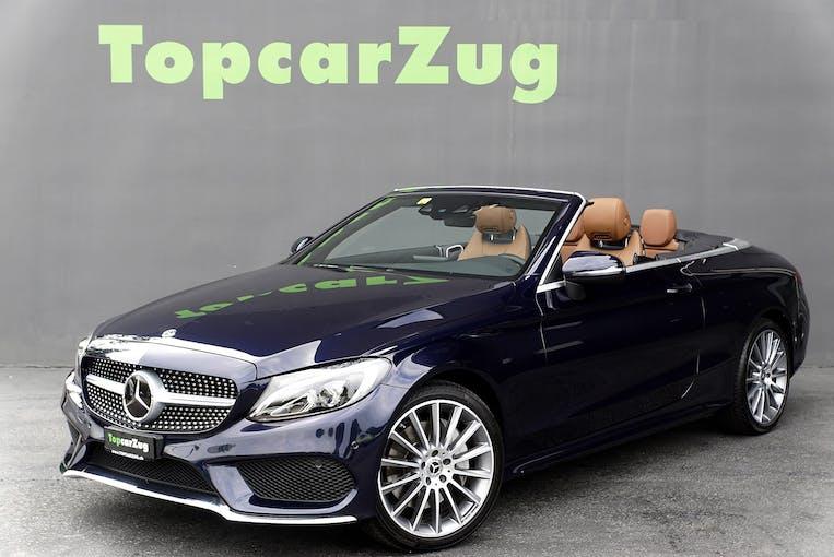 Mercedes-Benz C-Klasse C 400 Cabriolet AMG Line 4Matic ** CH-Fahrzeug-Gratis Service ** 58'900 km CHF47'900 - buy on carforyou.ch - 1
