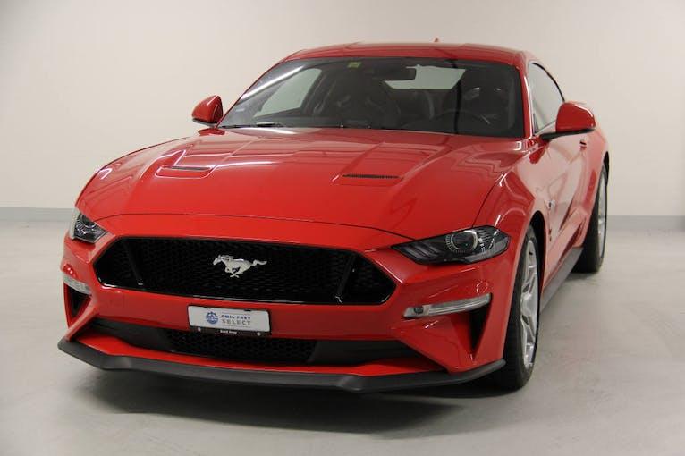 Ford Mustang Coupé 5.0 V8 GT 6'000 km CHF59'900 - buy on carforyou.ch - 1