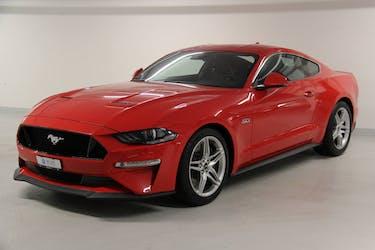 Ford Mustang Coupé 5.0 V8 GT 6'000 km CHF59'900 - buy on carforyou.ch - 2
