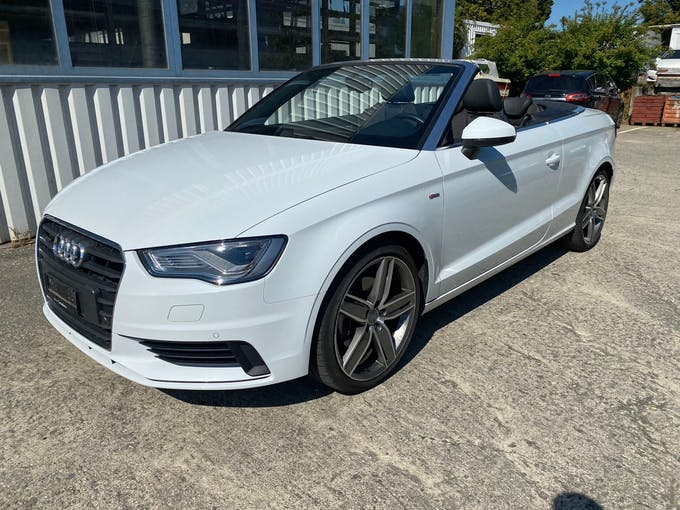 Audi A3 Cabriolet 1.8 TFSI Attraction quattro S-tronic 49'999 km CHF23'499 - buy on carforyou.ch - 1