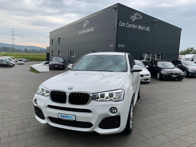 BMW X3 xDrive 20d M Sport Steptronic 65'000 km CHF31'500 - buy on carforyou.ch - 1