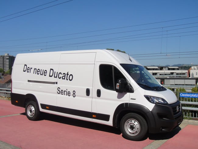 Fiat Ducato 35 tv 2.3 MJ H2, Serie 8 300 km CHF39'990 - buy on carforyou.ch - 1