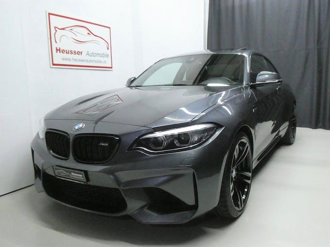 BMW 2er M2 Drivelogic LCI - Leder - Harman Kardon - 370 PS 52'400 km CHF46'800 - buy on carforyou.ch - 1