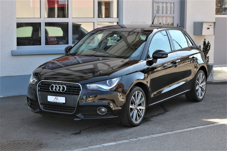 Audi A1 Sportback 1.4 TFSI Ambition S-tronic 80'000 km CHF15'900 - buy on carforyou.ch - 1