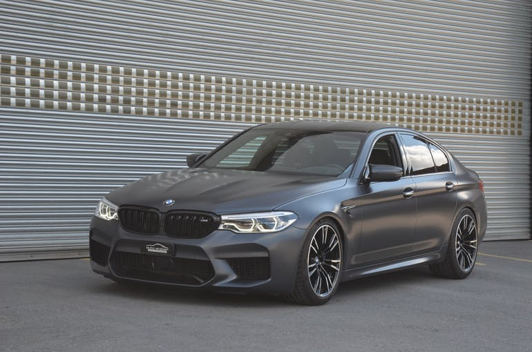 BMW 5er M5 xDrive Drivelogic 61'900 km CHF82'900 - buy on carforyou.ch - 1