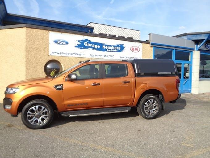 Ford Ranger DKab.Pick-up 3.2 TDCi 4x4 Wildtrak 64'000 km CHF34'700 - buy on carforyou.ch - 1